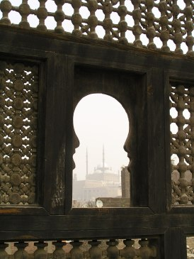 Silhouetted Mosque