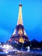 Illuminated Eiffel Tower