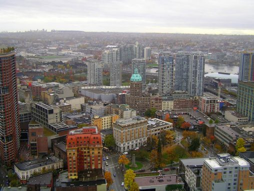 On top of Vancouver, Canada